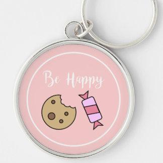 Be Happy Keychain