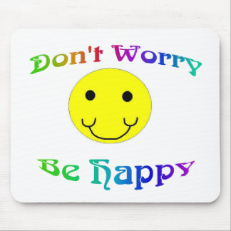 Be Happy Mousepad - Customized
