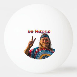 BE HAPPY PING PONG BALL