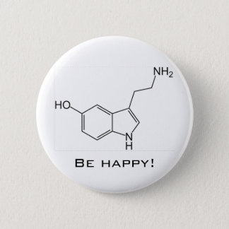 Be Happy! Serotonin Button