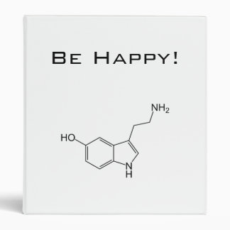 Be Happy! Serotonin Vinyl Binder