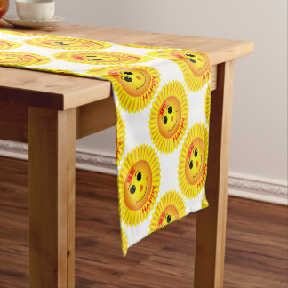 Be Happy Short Table Runner