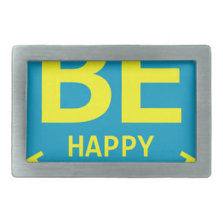 Be happy smile belt buckles
