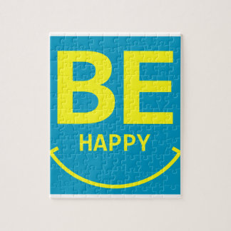 Be happy smile jigsaw puzzle