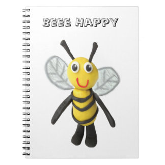 Be Happy Spiral Note Books