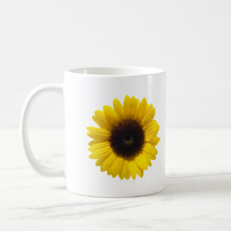 be happy sunflower mug