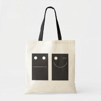 be happy! tote bag