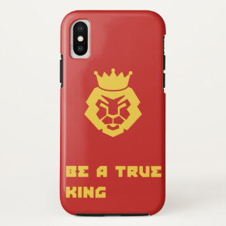 Be has true king iPhone x case