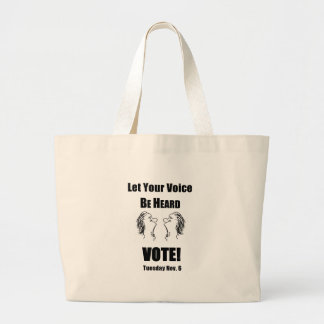 Be Heard #1.pdf Large Tote Bag