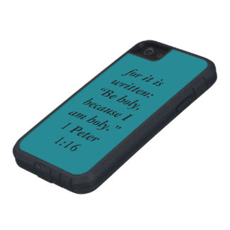 """Be Holy"" Iphone 5/5S and SE Tough Extreme Cell Ph iPhone 5 Cases"