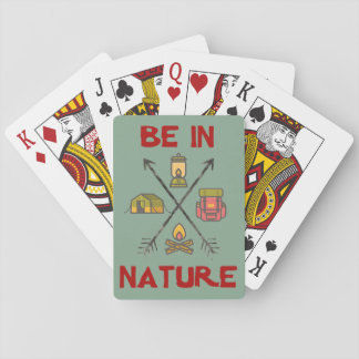 Be In Nature Poker Deck