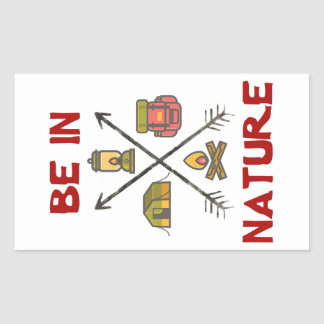 Be In Nature Sticker