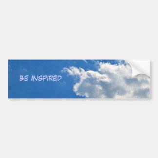 Be Inspired Bumper Sticker