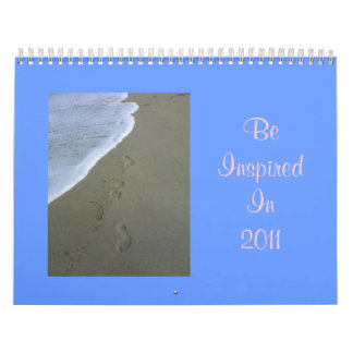 Be Inspired In 2011 Wall Calendar