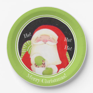 Be Jolly! Classic Christmas Paper Plates