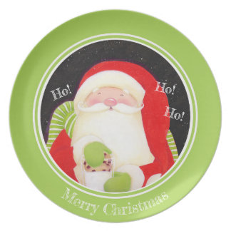 Be Jolly! Santa Classic Christmas Plate