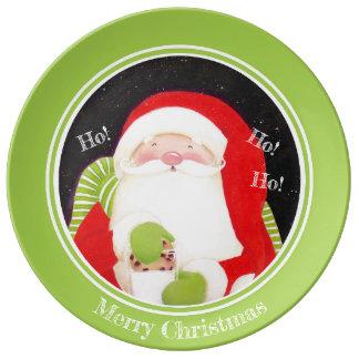 Be Jolly! Santa Classic Porcelain Christmas Plate