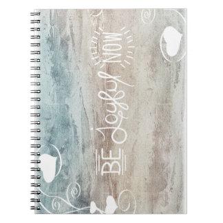 Be joyful note block-system notebook