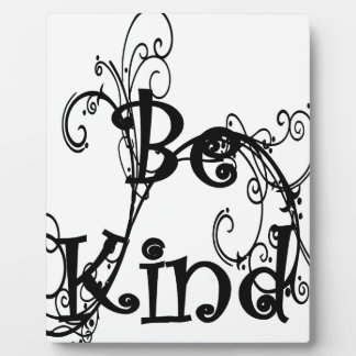 be kind3 plaque