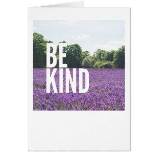 """""""Be Kind"""" Blank Card"""