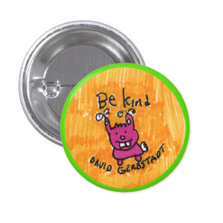 Be Kind bunny 1 Inch Round Button