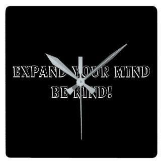 Be Kind Clock