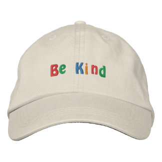 Be Kind Embroidered Hat