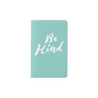 Be Kind - Hand Lettering Design Pocket Moleskine Notebook