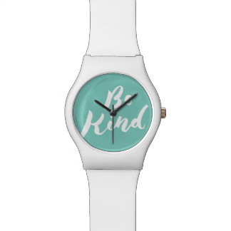 Be Kind - Hand Lettering Design Watch