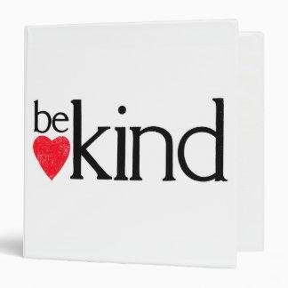 Be kind - Kindness matters Binder