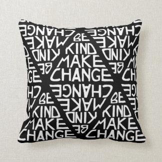 Be Kind Make Change - Satyagraha Movement Pillow
