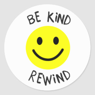 Be Kind Rewind Sticker