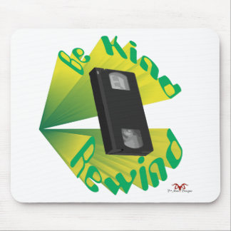 Be Kind Rewind Ver. 2 Mouse Pad