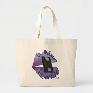 Be Kind Rewind Ver. 4 Large Tote Bag
