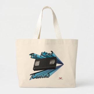 Be Kind Rewind Ver. 5 Large Tote Bag