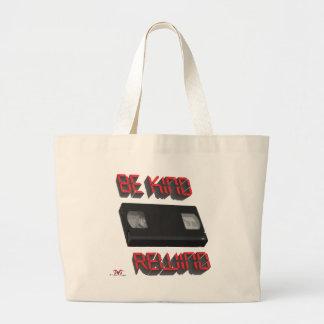 Be Kind Rewind Ver. 9 Large Tote Bag
