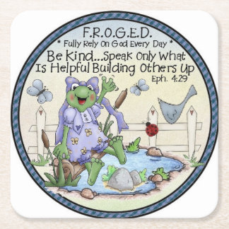 Be Kind Round Coasters