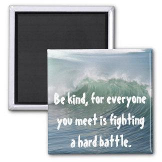 Be Kind Square Magnet