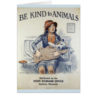 Be Kind to Animals - At the Vet's Office, Card