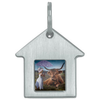 Be Kind to Animals Pet Name Tag
