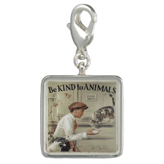Be Kind to Animals - Vintage Poster Charm