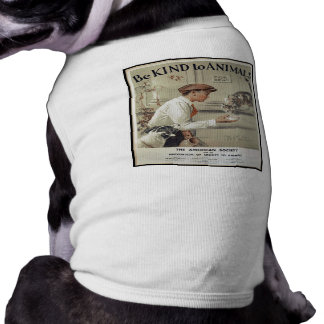 Be Kind to Animals - Vintage Poster Shirt