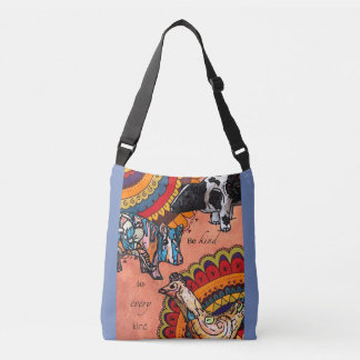 Be kind to every kind crossbody bag