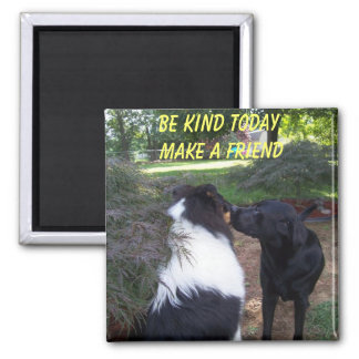 BE KIND TODAY, MAKE A FRIEND MAGNET