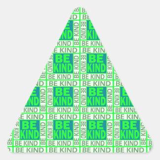 Be Kind Triangle Sticker