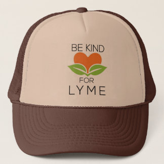 Be Kind Trucker Hat - Lyme Awareness