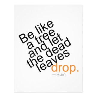 Be Like a Tree and Let the Dead Leaves Drop Letterhead