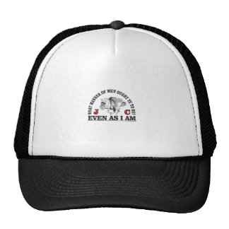 be like our lord trucker hat