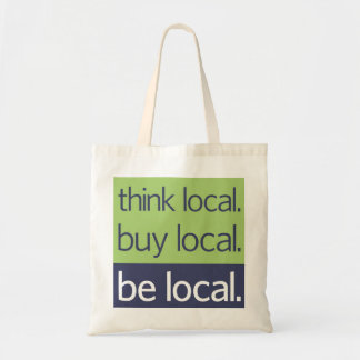 Be Local Tote Bag