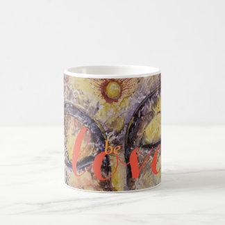 Be Love Buddha Watercolor Art Coffee Mug